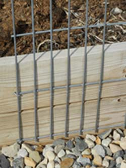 Fastening Cattle Guards With Galvanized Nails